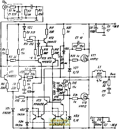 Рис 8 25 Схема HiFi усилителя